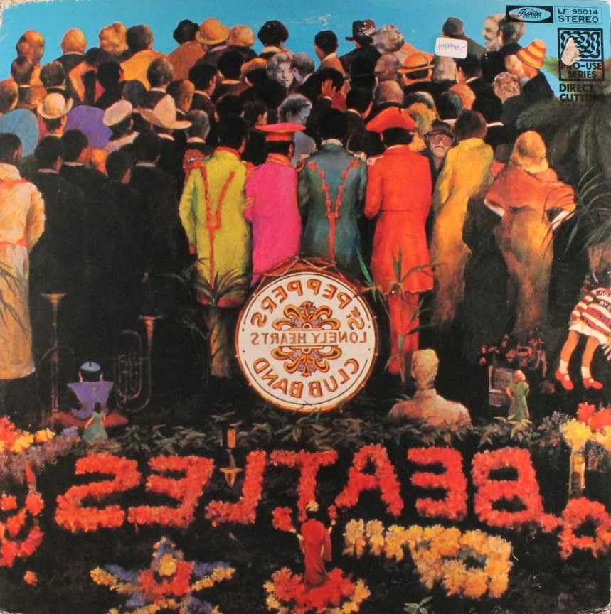 BEATLES (THE) - sgt peppers (reverse)