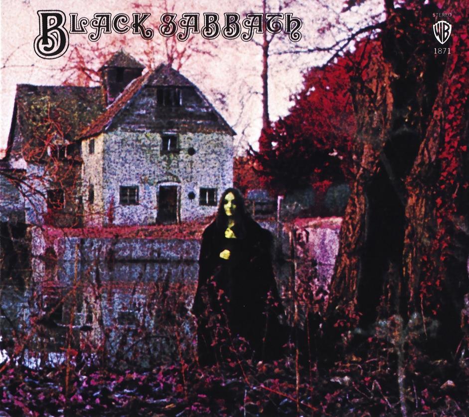 Black Sabbath - Black Sabbath (Recto)