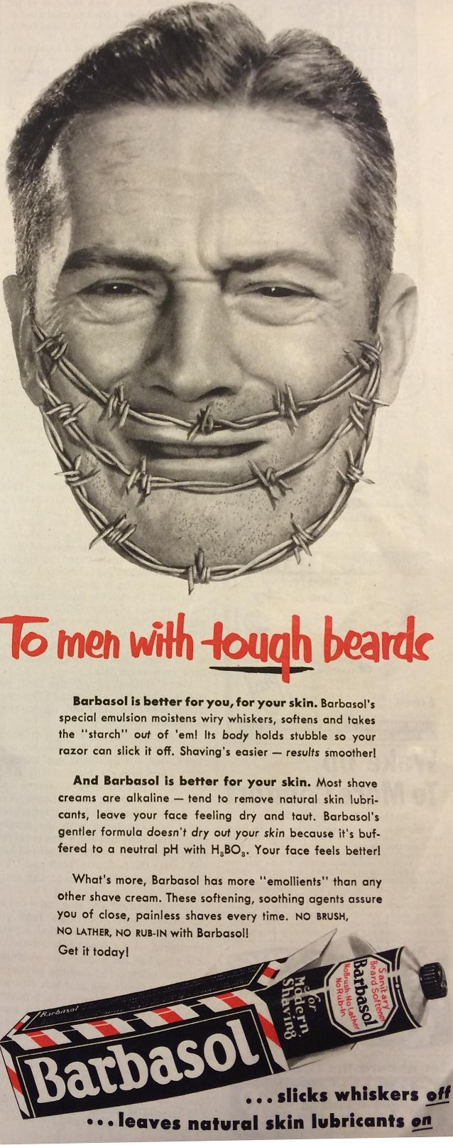 DK - tough beards