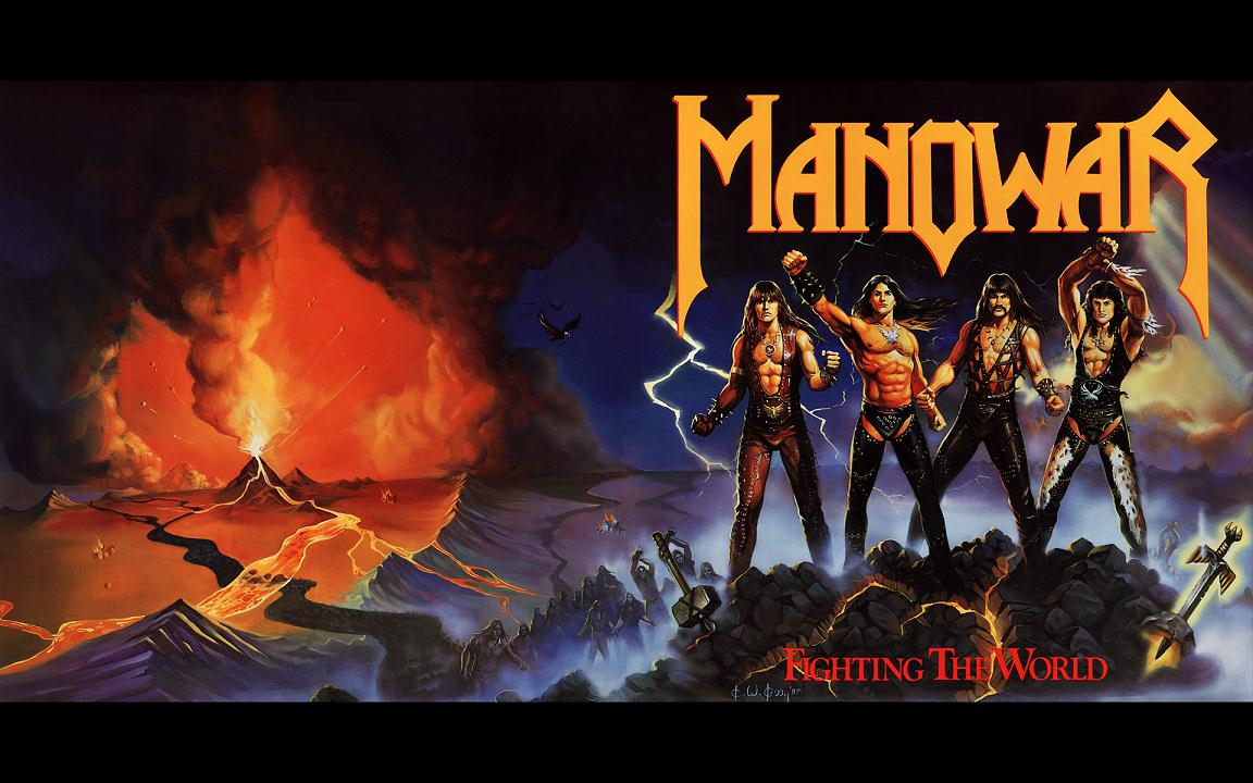 manowar_fighting the world