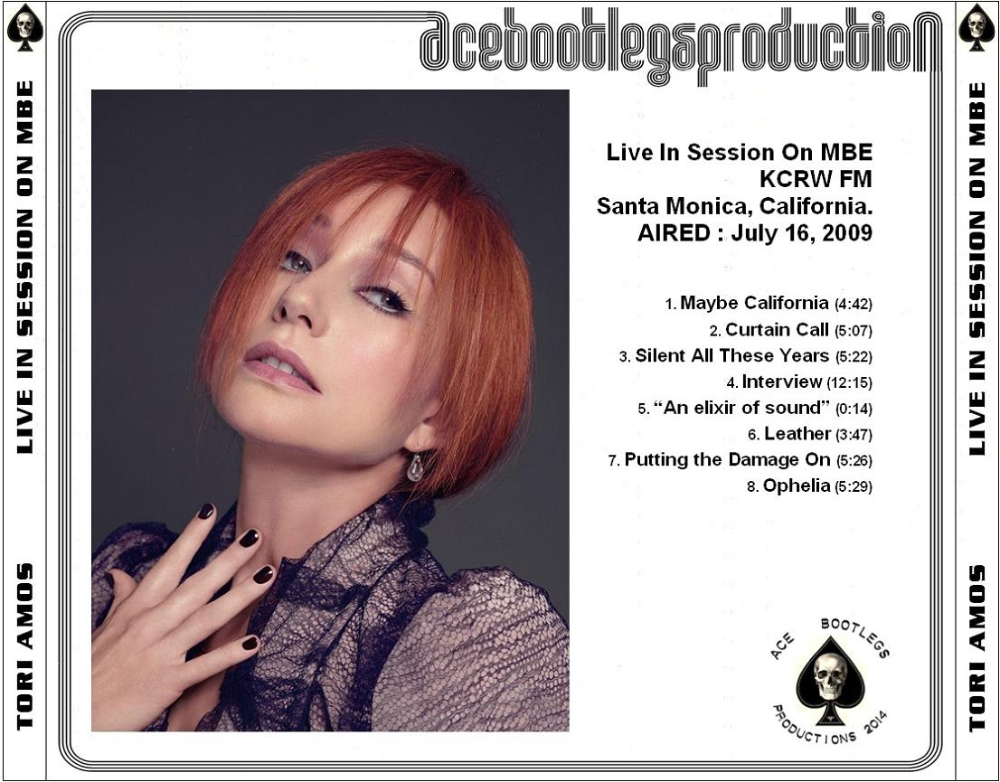 2009-07-16 - LIVE IN SESSION ON MBE (back)
