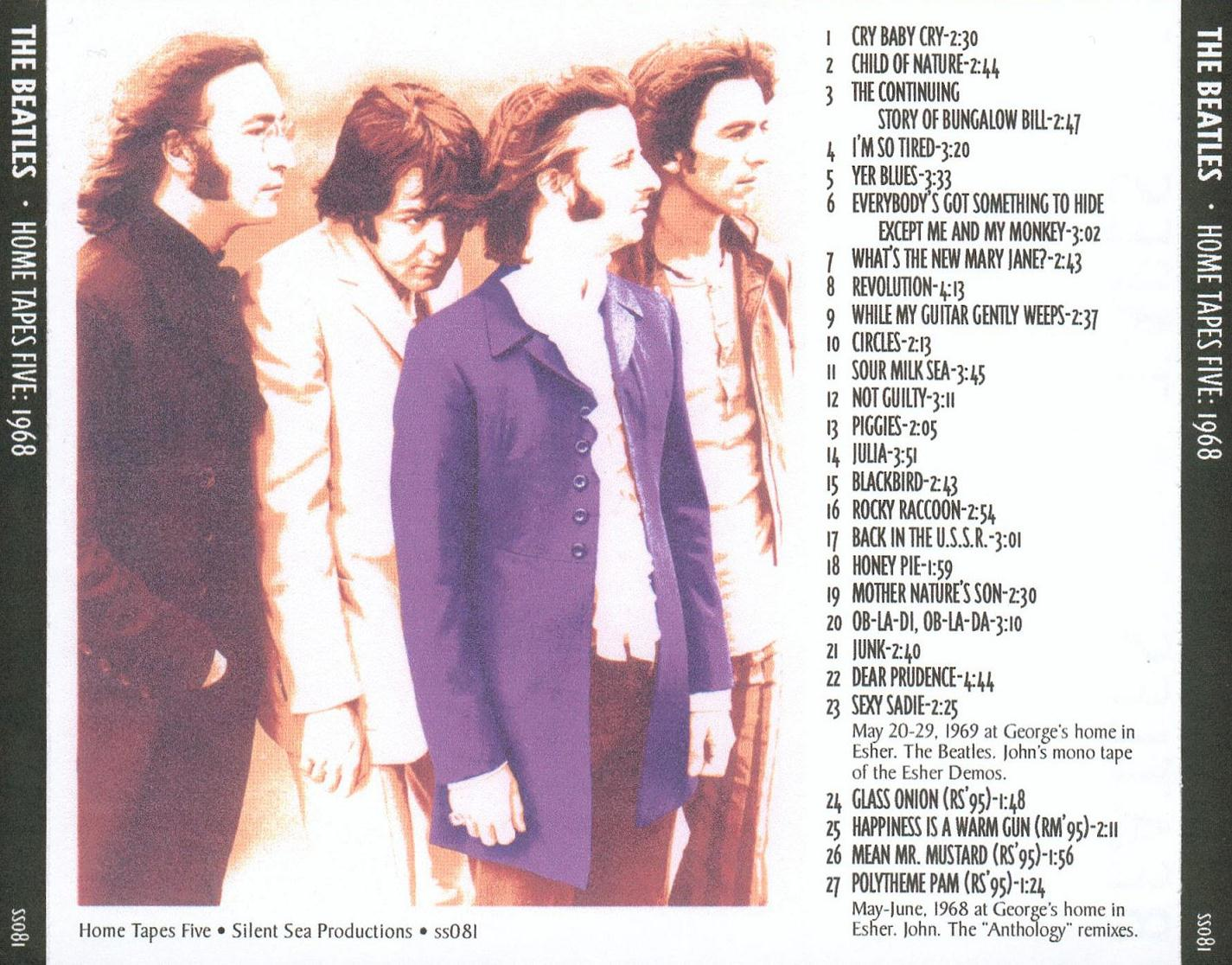 Complete Home Recordings 1968back