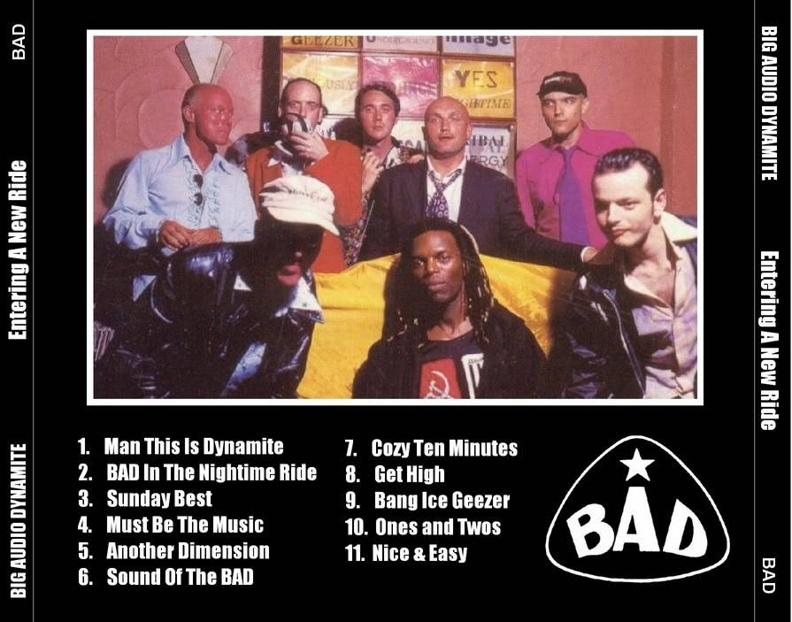 BIG AUDIO DYNAMITE – ENTERING A NEW RIDE (Unreleased album