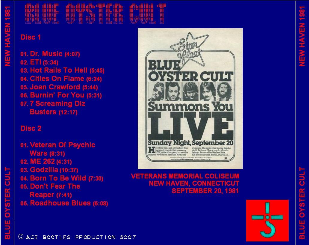Blue Öyster Cult - Burnin' For You / Dr. Music / Flaming Telepaths