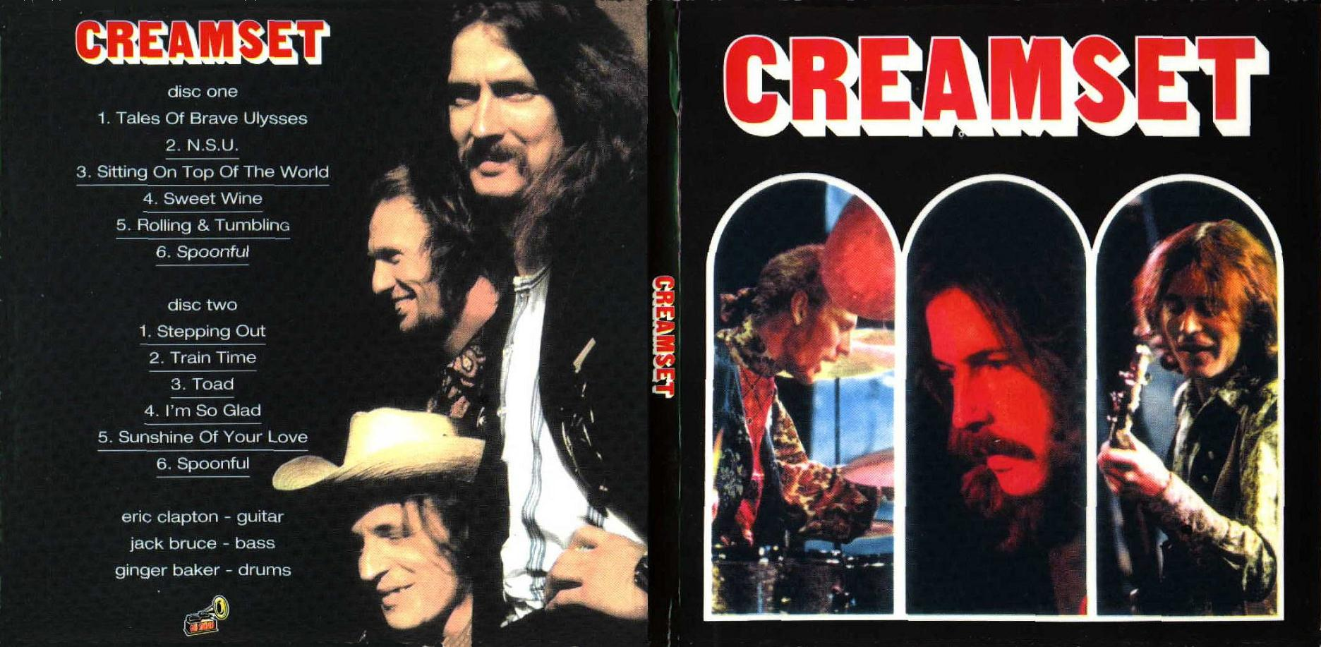 CREAM – CREAMSET – ACE BOOTLEGS