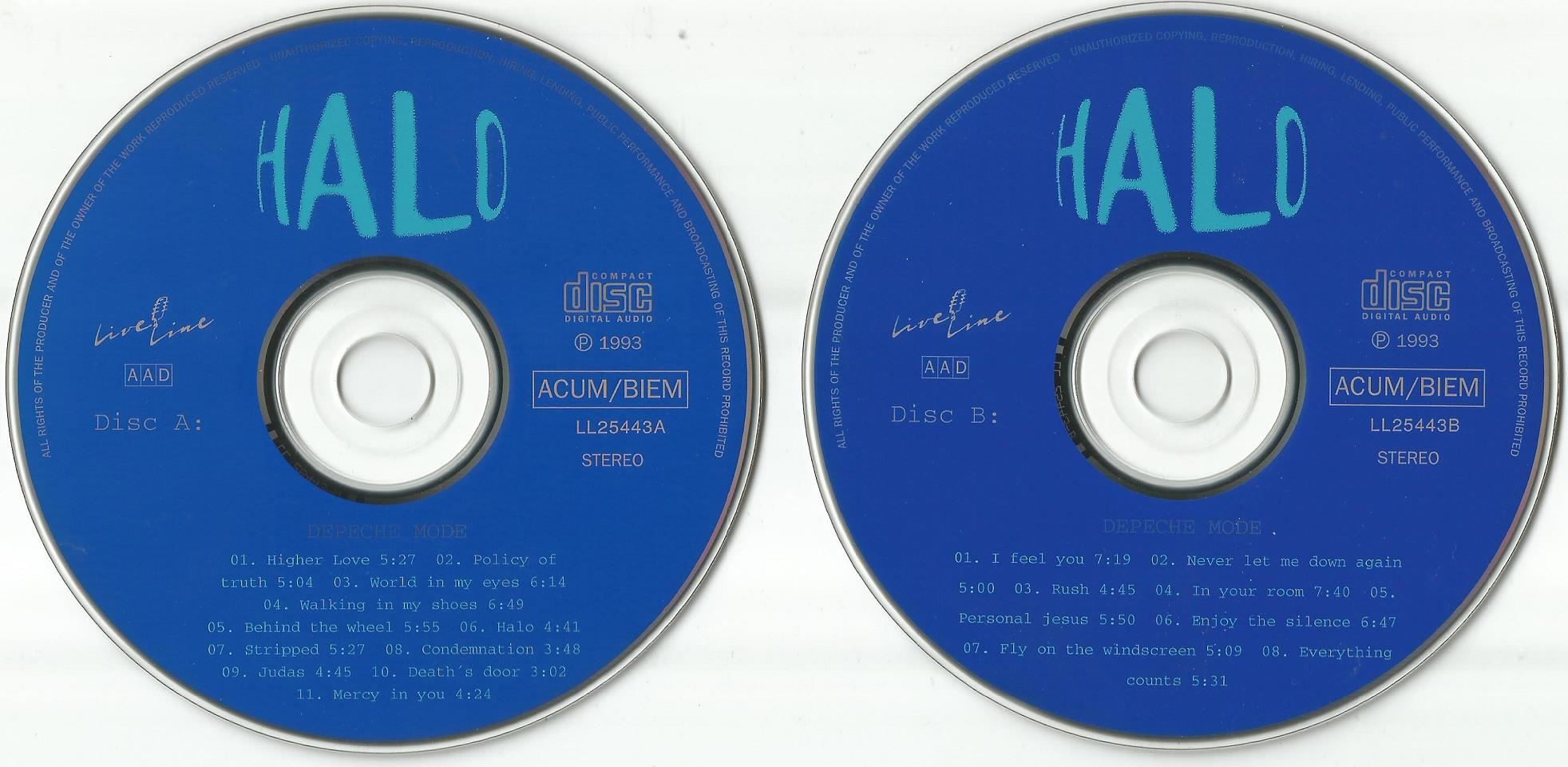 DEPECHE MODE – HALO (LIVE IN LAUSANNE, 1993) – ACE BOOTLEGS