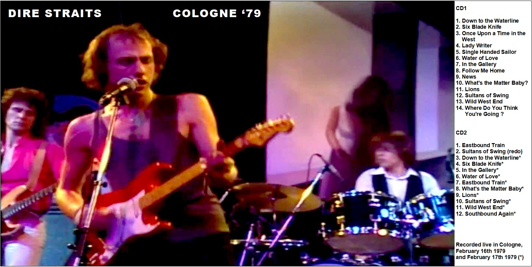DIRE STRAITS – COLOGNE '79 – ACE BOOTLEGS