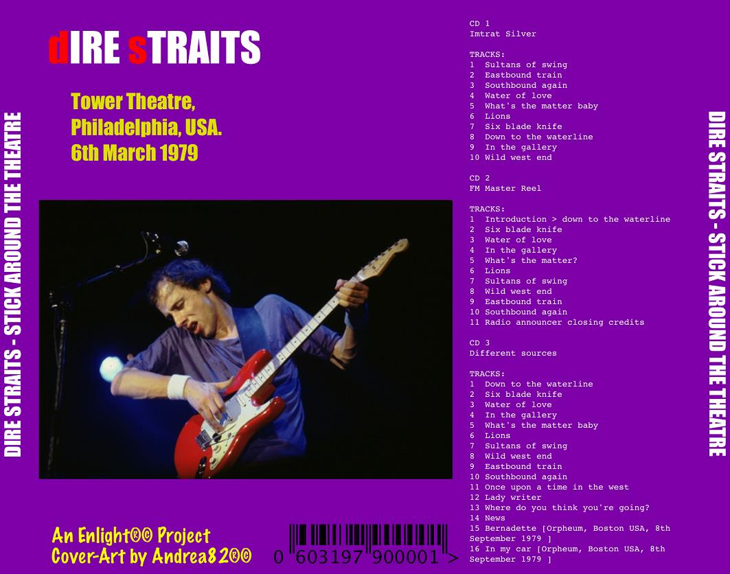 DIRE STRAITS – STICK AROUND THE THEATRE – ACE BOOTLEGS