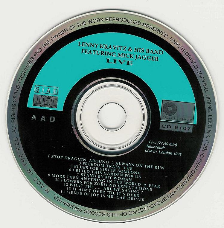 1991-11-24-Kravitz_His_Band_featuring_Mick_Jagger-cd