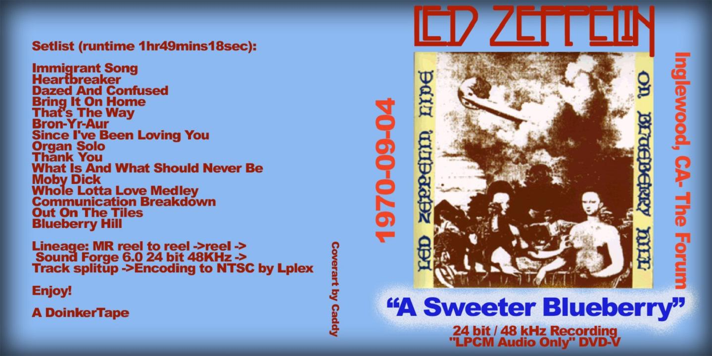 LED ZEPPELIN – A SWEETER BLUEBERRY – ACE BOOTLEGS