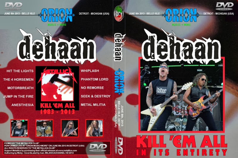 2013-06-08-Kill_em_all_live_Detroit_Deehan-DVD