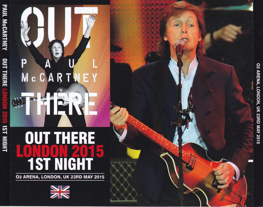 PAUL McCARTNEY – OUT THERE IN LONDON – ACE BOOTLEGS