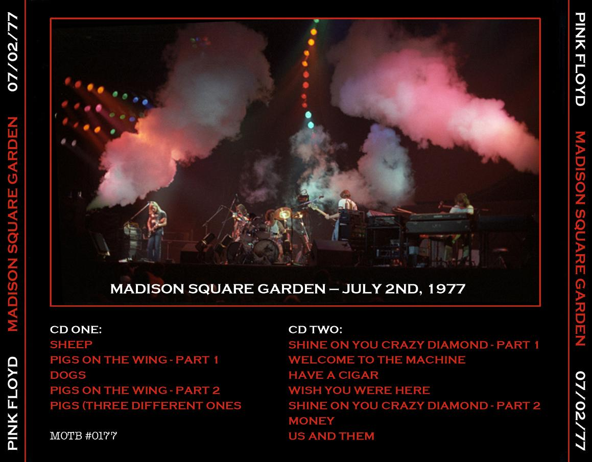 1977-07-02-MADISON SQUARE GARDEN JULY 2nd 77 (MOTB)-back