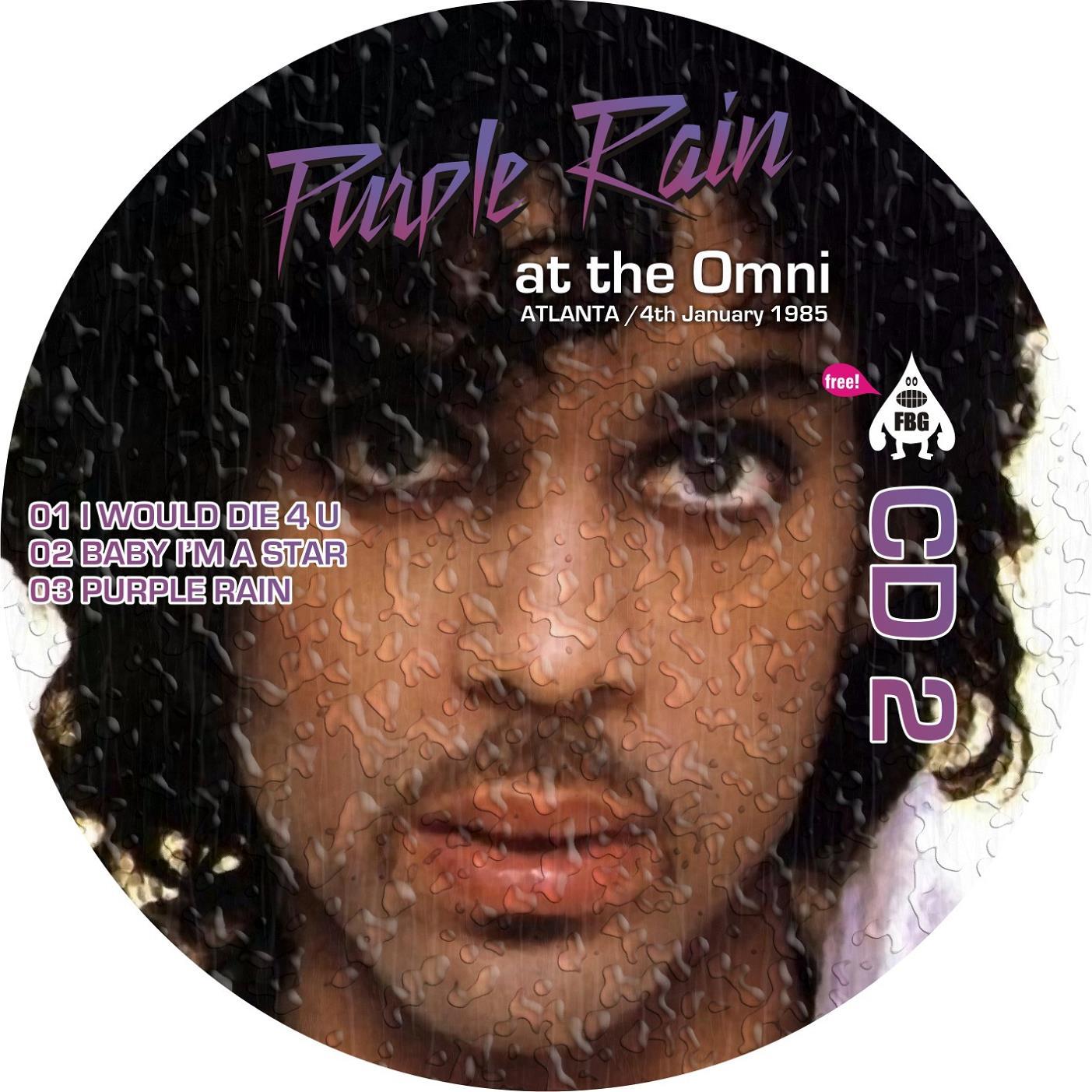 Prinss Purple Rain At The Omni Ace Bootlegs