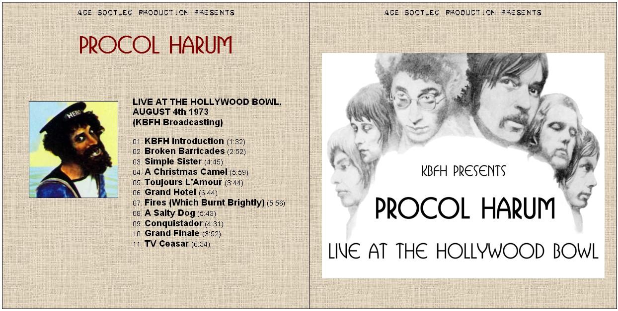 PROCOL HARUM – HOLLYWOOD BOWL – ACE BOOTLEGS
