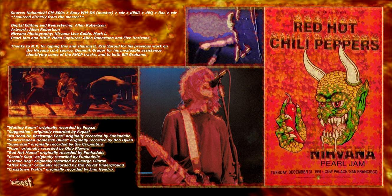 RED HOT CHILI PEPPERS / PEARL JAM / NIRVANA – JAM LIKE HELL – ACE