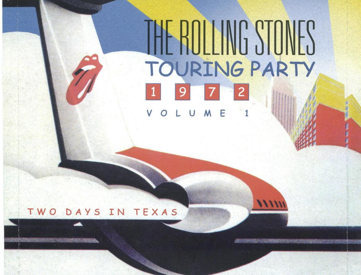 1972-06+07-Touring_Party_Bootleg-Vol 1-inlay