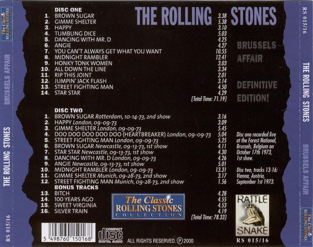Image result for Brussels 17-10-1973 Rolling Stones
