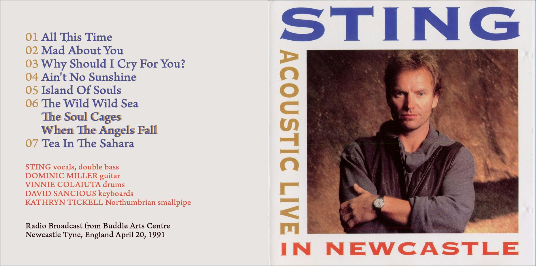 1991-04-20-Acoustic_Live_In_Newcastle-front