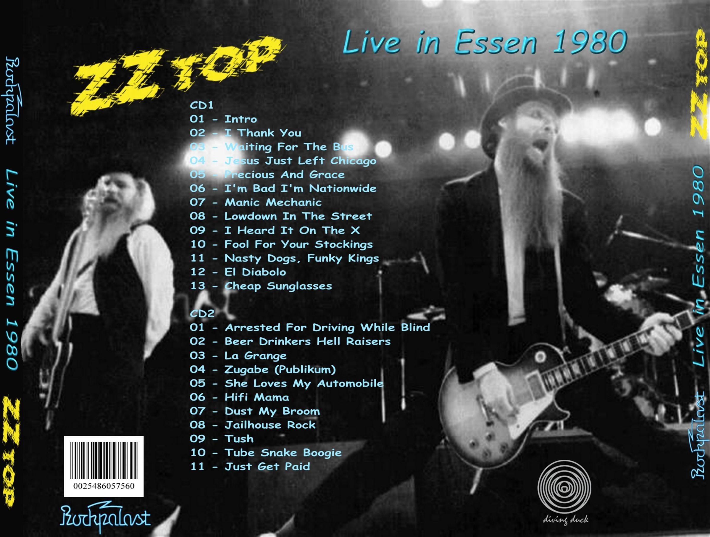 Zz Top Rockpalast