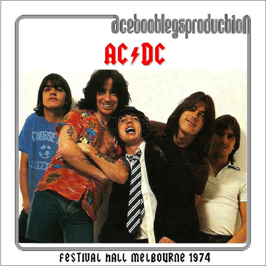 ac dc festival hall melbourne 1974 ace bootlegs. Black Bedroom Furniture Sets. Home Design Ideas