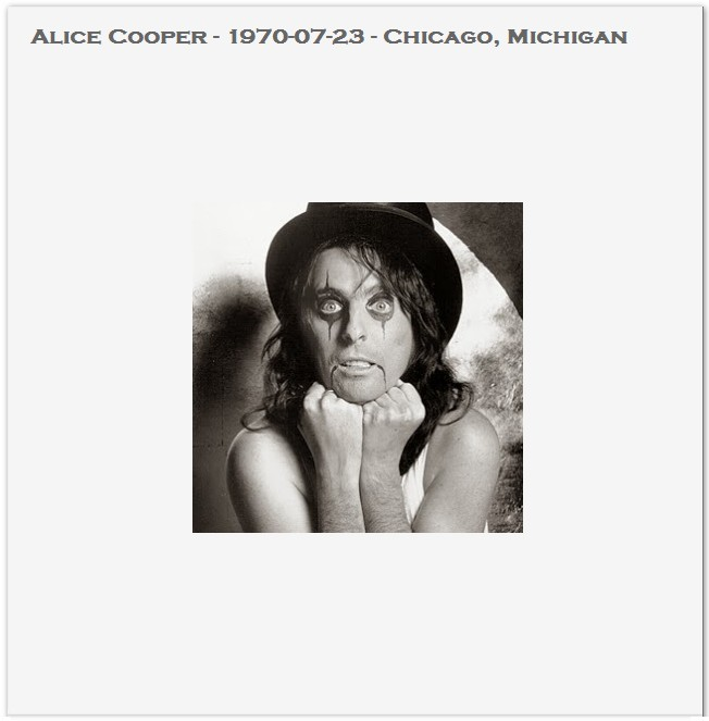 Alice Cooper Live In Chicago Ace Bootlegs