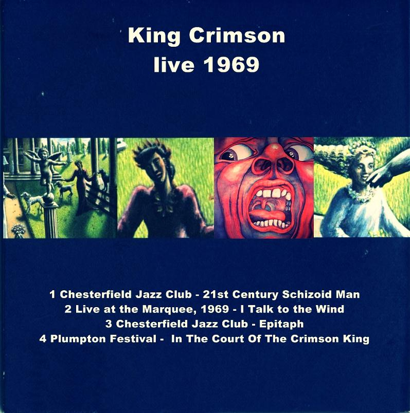 KING CRIMSON – LIVE 1969 – ACE BOOTLEGS