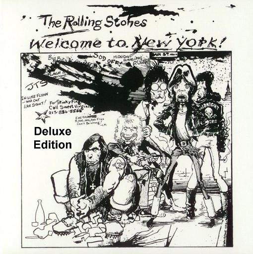 THE ROLLING STONES – WELCOME TO NEW YORK (DELUXE EDITION