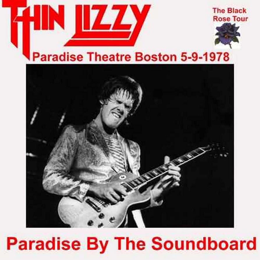 THIN LIZZY – PARADISE BY THE SOUNDBOARD – ACE BOOTLEGS