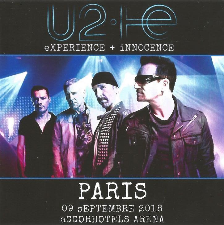 U2 – LIVE IN PARIS 2018 (2nd NIGHT) – ACE BOOTLEGS